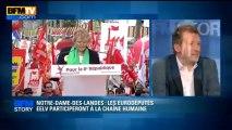 BFM STORY: Notre-Dame-des-Landes, les eurodéputés EELV participeront à la chaîne humaine - 10/05