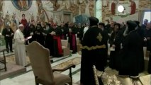 Egypt's Coptic Pope Tawadros II on historic Vatican visit