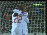 2007 (November 6) Shakhtar Donetsk (Ukraine) 0-AC Milan (Italy) 3 (Champions League)