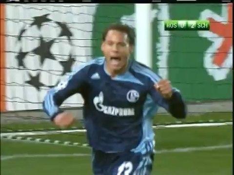 2007 (October 3) Rosenborg (Norway) 0-Schalke (Germany) 2 (Champions League)