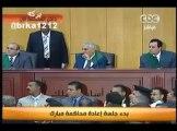 المحامي فريد الديب يرفض دخول المحاميين الكويتيين لمحاكمة حسني مبارك