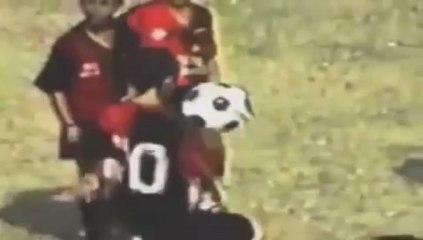 La vidéo de Lionel Messi enfant