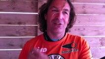 Défi Wind 2013 - Interview de David Lledos avant sa 3ème manche où il terminera 13ème