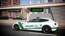 Dubai Police Voitures : Lamborghini, Ferrari, Camaro