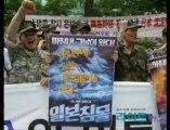 反韓デモより過激な韓国の反日デモ