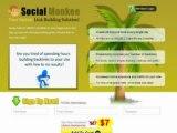 """ Powerful Link Building Site Over 100k Members! Socialmonkee Rocks! (view mobile)  |  Powerful Link Building Site Over 100k Members! Socialmonkee Rocks! (view mobile) """
