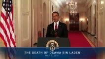 President Obama on Death of Osama bin Laden