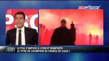 PSG / Les supporters parisiens envahissent les Champs-Élysées - 12/05