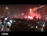 PSG champion: les Champs-Elysées pris d'assaut par les supporteurs