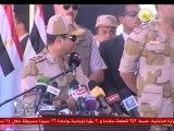السادة المحترمون: الفريق عبدالفتاح السيسى  شهد اليوم تفتيش حرب بالفرقة التاسعة مدرعات،