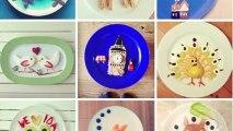 Artist Creates Famous Images on Morning Breakfast