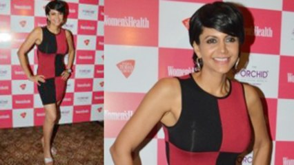 Mandira Bedi Looks Sexy at Woman's Health Magazine Launch