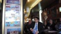 Café politique avec Franck MARGAIN (PCD) candidat aux primaires UMP pour la mairie de Paris (extrait 2)