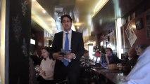 Café politique avec Franck MARGAIN (PCD) candidat aux primaires UMP pour la mairie de Paris (extrait 1)