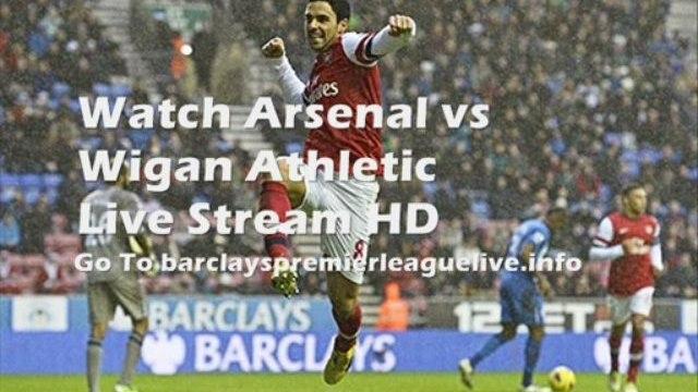 Football Arsenal vs Wigan Athletic Barclays Premier League 14-05-2013 Live Telecast