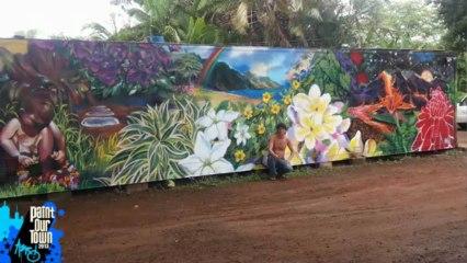 Caleb Aero - Paint Our Town 2013 Kauai