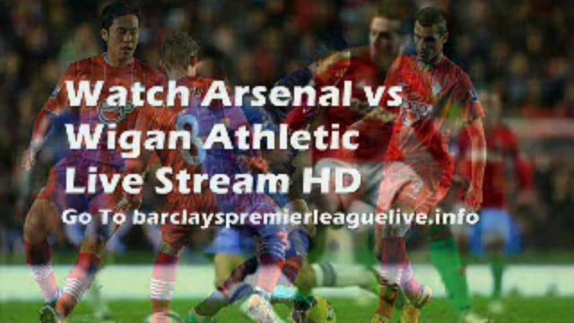 Football Arsenal vs Wigan Athletic Barclays Premier League On 14-05-2013