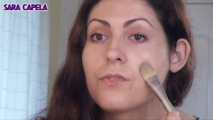 How to apply Foundation with a Flat Brush