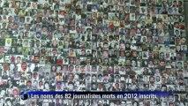 Le Newseum met à jour son mémorial dédié aux journalistes tués