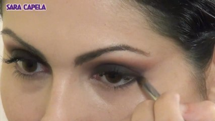 Purple smokey eye - Makeup Tutorial