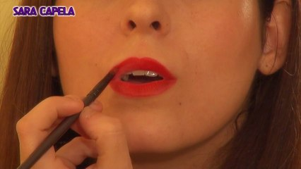 Bold RED Lips Makeup Tutorial