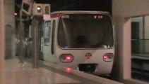 MPL75 : Manœuvre à la station Stade de Gerland sur la ligne B du métro de Lyon