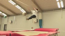 Step By Step Guide To The Seat Drop In Trampolining
