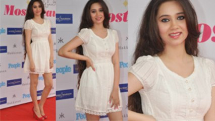 Gorgeous Sasha Agha in short white dress Hit or Miss?