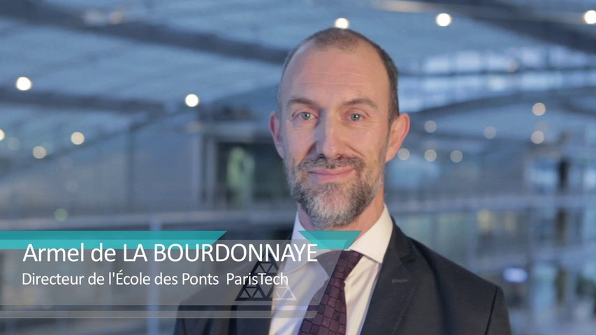 Armel de LA BOURDONNAYE - Directeur de l'École des Ponts ParisTech