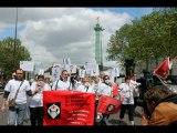 Manifestation des Aides Soignantes et Infirmières de NB3NP le 12 mai 2013 à la Bastille,Paris
