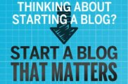 """"""" How To Start A Blog That Matters - 75% Commissions, Incredible Product (view mobile)     How To Start A Blog That Matters - 75% Commissions, Incredible Product (view mobile) """""""