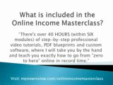 """"""" Online Income Masterclass - Affiliates Earning Above $1.00 Epc! (view mobile)  