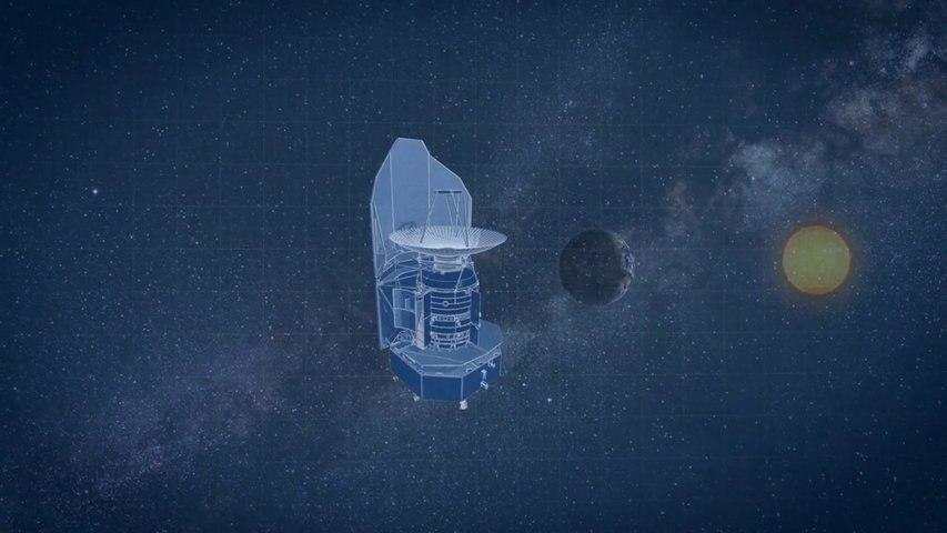Observatoire spatial Herschel - un miroir en carbure de silicium