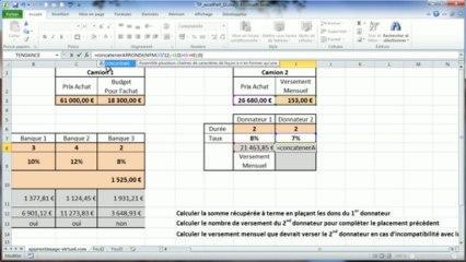 Correction du tp Excel numéro SIX