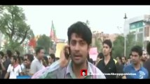 Political parties protests against rigging