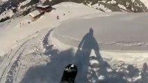 Snowboard Freeride à Praz sur Arly