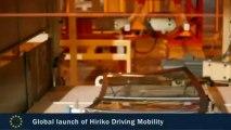 José Manuel Barroso au lancement de la voiture électrique Hiriko