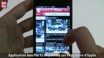 Présentation application iPhone Auto Plus V2