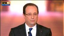 """François Hollande: """"Jérôme Cahuzac ne devrait pas se présenter à quelque élection que ce soit – 16/05"""