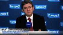 """Mélenchon: Hollande, """"une politique de droite"""""""