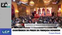 Zapping Actu du 17 Mai 2013 ! - Conférence de presse de François Hollande, des histoires de bébés ivres et de poussettes sur les rails du métro