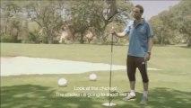 Quand le Real Madrid joue au foot sur practice de Golf !