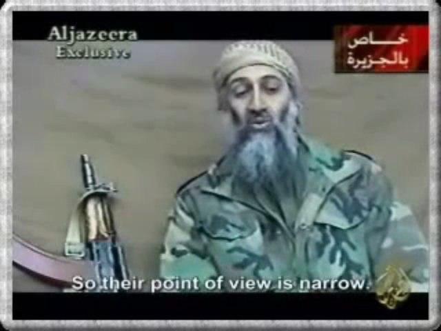 Osama Bin Laden Talks About the 9/11 Attacks
