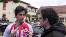 Interview de Romain Guyot - 1ère étape Ronde de l'Isard 2013