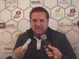 Conferenza stampa con il DS Toto' Catania dopo la gara amichevole con il Catania Calcio