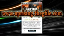 Black Ops 2 Uprising Map Pack DLC Redeem Codes - Xbox 360, PS3 and PC