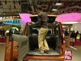Renault Kangoo Be Bop au mondial de Paris 2008