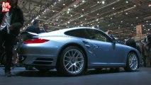 Porsche 911 Turbo S - En direct du salon de Genève 2010