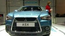 Mitsubishi ASX - En direct du salon de Genève 2010