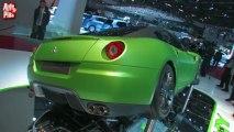 Ferrari 599 GTO Hybrid - En direct du salon de Genève 2010